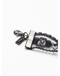 Free People - Black Regal Rose Womens Ava Lace Choker - Lyst