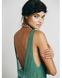 Free People | Green Intimately Womens True Love Maxi | Lyst