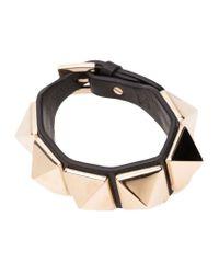 Valentino | Metallic 'Rockstud' Bracelet | Lyst