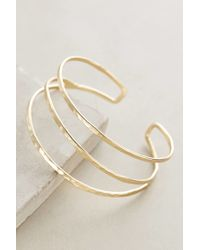 Anthropologie | Metallic Strands Cuff | Lyst