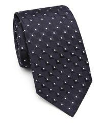 Armani - Blue Square Neat Silk Tie for Men - Lyst