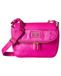 Fossil | Pink Preston Small Flap | Lyst