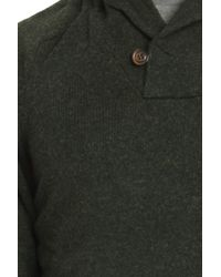 Woolrich - Green Ivy League Shawl Collar for Men - Lyst
