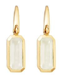 Astley Clarke | Metallic Gold-plated Moonstone Prismic Drop Earrings | Lyst