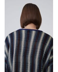 Acne | Blanca Stripe blue Stripe | Lyst