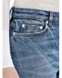 Acne Studios - Blue Mid-rise Bootcut Jeans - Lyst