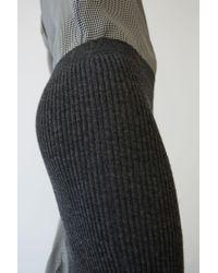 Acne - Gray Randa Alpaca charcoal Grey - Lyst