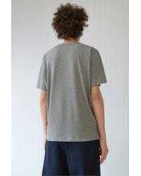 Acne | Gray Niagara Face zinc Grey Melange for Men | Lyst