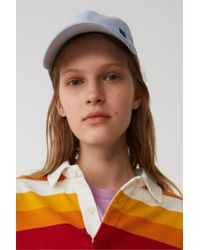 Acne - Baseball Cap light Blue - Lyst
