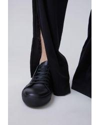 Acne - Black Adrian Smiley Sneakers for Men - Lyst