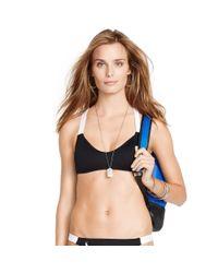Polo Ralph Lauren | Black Crisscross-back Bikini Top | Lyst