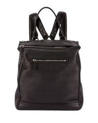 Givenchy - Black Pandora Calfskin Leather Backpack - Lyst