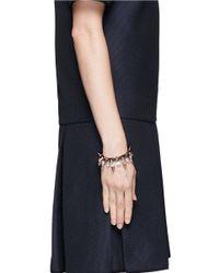 Joomi Lim - Metallic Skull Crystal Spike Bracelet - Lyst