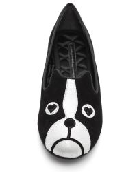 Marc By Marc Jacobs - Black Shorty French Bulldog Loafers - Lyst