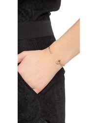 Tai | Metallic Hexagon Bracelet - Montana/gold | Lyst