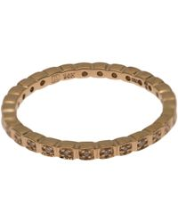Anna Sheffield | Metallic Gold Diamond Tiny Wheat Eternity Ring | Lyst