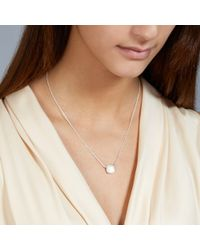 Astley Clarke - Metallic Moonstone Timbrel Pendant - Lyst