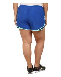 Nike | Blue Extended Sizing Tempo Track Short | Lyst
