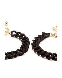 Forever 21 | Black Matte Metal Chain Bracelets | Lyst
