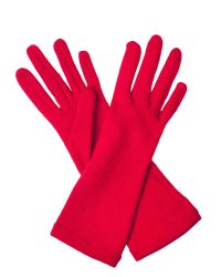 Cornelia James - Red Tabitha Pure Cashmere Gloves - Lyst
