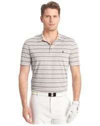 Izod | Gray Cool Waves Heather Golf Polo for Men | Lyst