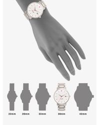 kate spade new york - Metallic Gramercy Grand Stainless Steel & Mother-Of-Pearl Bracelet Watch - Lyst