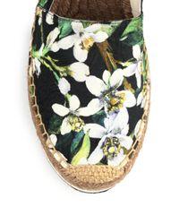 Dolce & Gabbana - Multicolor Embellished Brocade Espadrilles - Lyst