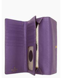 kate spade new york - Purple Cedar Street Nika - Lyst