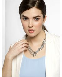 BaubleBar | Metallic Crystal Triangulum Collar-antique Silver | Lyst