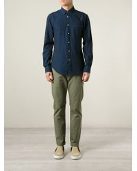 Hope - Blue Classic Denim Shirt for Men - Lyst