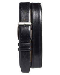 Mezlan | Black 'perseo' Leather Belt for Men | Lyst