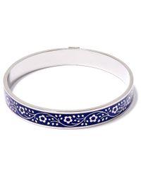 Liberty | Blue Navy Pemberley Solid Floral Bracelet | Lyst