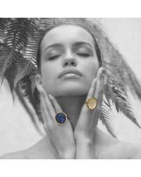 Sonal Bhaskaran | Metallic Aurora Gold Cocktail Ring | Lyst