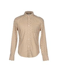 Band of Outsiders | Natural Shirt for Men | Lyst