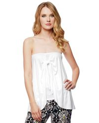 Ella Moss | White Bella Tie Top And Skirt | Lyst