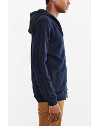 Globe | Black Stanley Hooded Zip-up Sweater for Men | Lyst