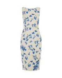 Hobbs | Multicolor Bluebell Dress | Lyst