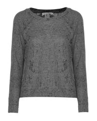 Kain - Gray Cotton-blend Sweater - Lyst