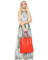 Madewell | Red Mccaren Tote - True Black | Lyst