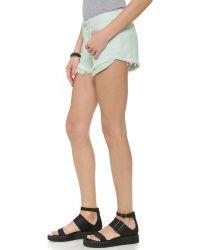 3x1 | Blue Wm5 Cutoff Shorts - Sunrise | Lyst