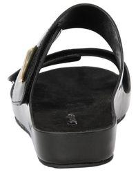 Calvin Klein - Black Women'S Myra Slide Sandals - Lyst