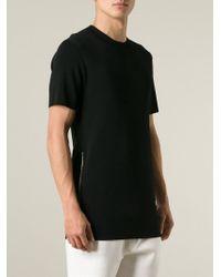 Neil Barrett | Black Side Zip Sweater for Men | Lyst