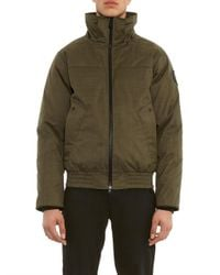 Canada Goose - Green Rossland Down Bomber Jacket for Men - Lyst