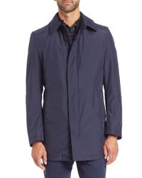 Strellson - Blue Lightweight Nylon Jacket for Men - Lyst