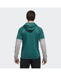 Adidas - Green Team Issue Lite Hoodie for Men - Lyst