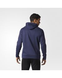 Adidas - Blue Rangers Authentic Pro Player Hoodie for Men - Lyst