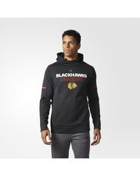 Adidas - Blackhawks Authentic Pro Player Hoodie for Men - Lyst