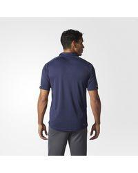 Adidas - Blues Pro Locker Room Polo Shirt for Men - Lyst