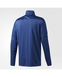Adidas - Blue Maple Leafs Authentic Pro Jacket for Men - Lyst