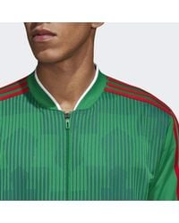 Adidas - Green Mexico Track Jacket for Men - Lyst
